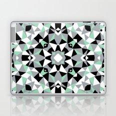 Abstract Kaleidoscope Mint Laptop & iPad Skin