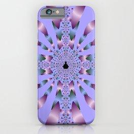 Petals in Lilac iPhone Case