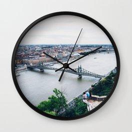 Liberty Bridge Wall Clock