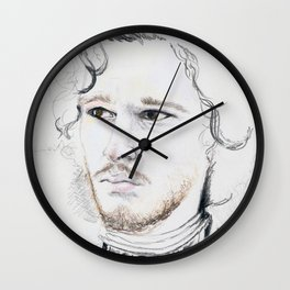 11. Snow Wall Clock