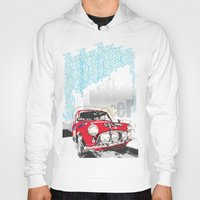 mini Hoodies featuring mini racer by michael cheung