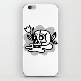 life & death iPhone Skin