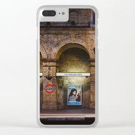 Underground Clear iPhone Case