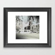 SPRING IN DEALEY PLAZA Framed Art Print
