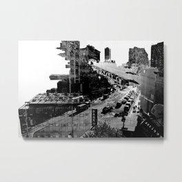 Intersection Metal Print
