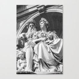 Vienna statue Canvas Print