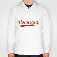 kurt vonnegut Hoodies featuring Team Vonnegut by Oscar Sierra
