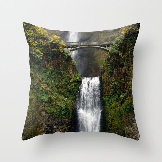 Multnomah Bridge Throw Pillow