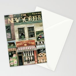 Vintage New Yorker Cover - Circa 1947 Stationery Cards