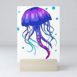 Jellyfish Medusa Sea Jellie Animal Trend Fish Gift Mini Art Print