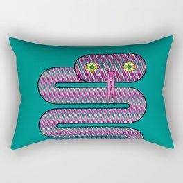 Linda the Snake Rectangular Pillow