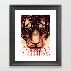 Tyger! Tyger! Burning Bright! Framed Art Print