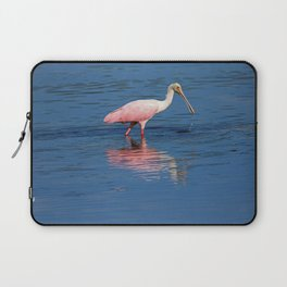 Roseate Spoonbill at Ding II Laptop Sleeve