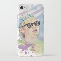 niall horan iPhone & iPod Cases featuring Niall Horan glasses by vanessa