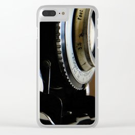 No.1 Clear iPhone Case