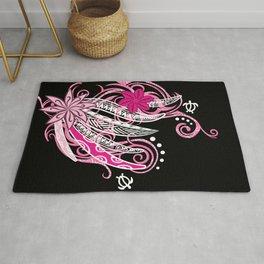 Pink Hawaii Tribal Threads Rug