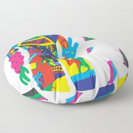 The Raver Floor Pillow