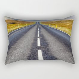 Road to Nowhere. Rectangular Pillow