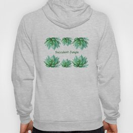succulent echeveria Hoody