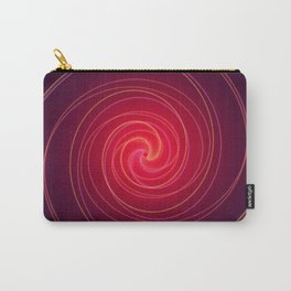 Neon Swirl Carry-All Pouch