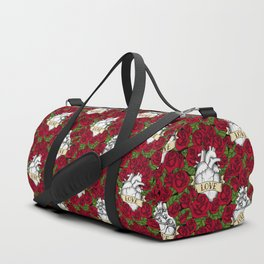 Heart and Roses_Love Duffle Bag