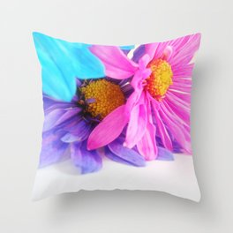 Brightly Alive I Throw Pillow