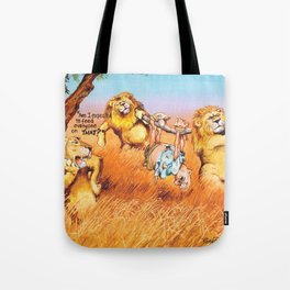the prey Tote Bag