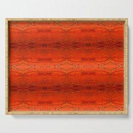 Rustic Furniture Orange Southwestern Geometric Barstool Counter Stool Corbin Serving Tray