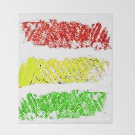 flag of bolivia 5 – Chalk version bolivian,boliviano,bolivian,Sucre, La Paz. Throw Blanket