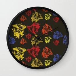 Monarch Butterflies Wall Clock