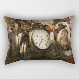 Brussels' time Rectangular Pillow