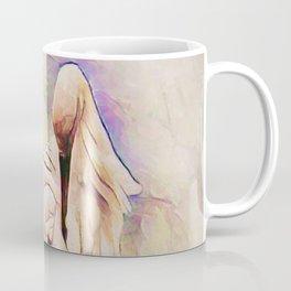 Heron Pinked Coffee Mug