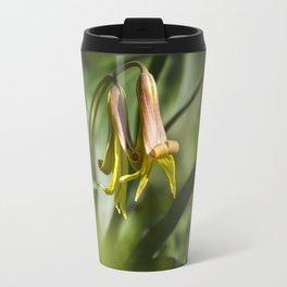 Trout Lily Flowers Travel Mug