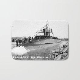 USS WOODROW WILSON (SSBN-624) Bath Mat