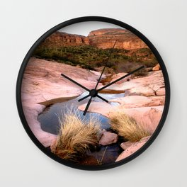 Mountain Creek Wall Clock