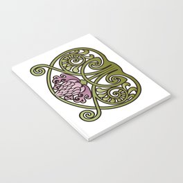 Nouveau Thistle Notebook
