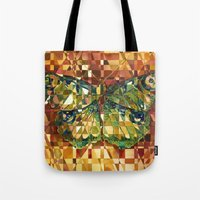 moth Tote Bags featuring Moth by S.G. DeCarlo