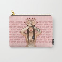 My Body My Rules Carry-All Pouch