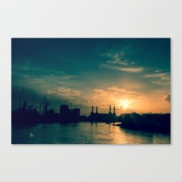 London Is The Place For Me Canvas Print