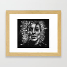 They can see in the Dark... Lumpi Framed Art Print