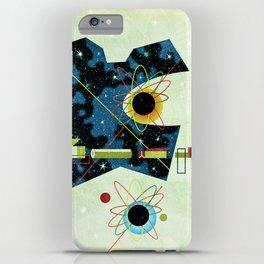 Retro Atomic factory cosmic splender iPhone Case