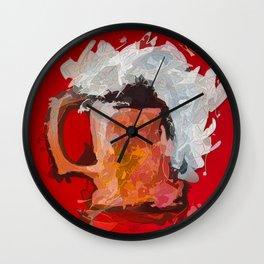 Abstract Beer Wall Clock