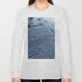Footprints at the Beach Long Sleeve T-shirt