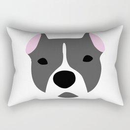 My dog, Gia Rectangular Pillow