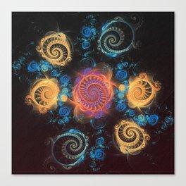 Spiralia 150516-049 Canvas Print