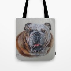 Bulldog bitch Tote Bag