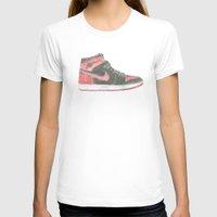 air jordan T-shirts featuring Air Jordan 1 Retro High  by Ivana Citakovic
