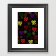 A Treat for your eyes Framed Art Print
