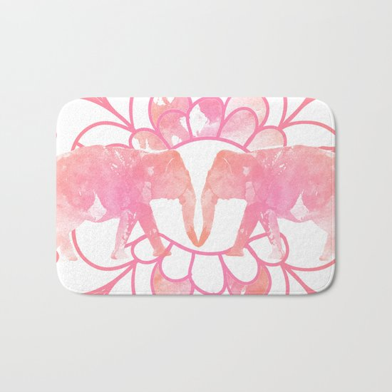 Elephants Bath Mat