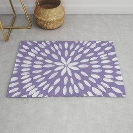 Mandala Flower #4 #UltraViolet #drawing #decor #art #society6 Rug